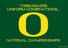 Oregon Ducks Meme - oregon ducks uniform combinations the 411 from 406
