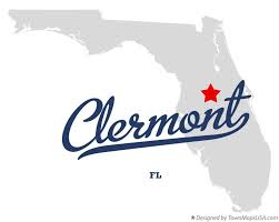 clermont fl map map of clermont fl florida