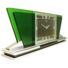 stunning swiss art deco chrome and glass mechanical desk