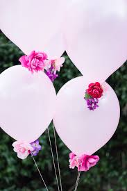 flowers and balloons diy flower balloons flower balloons faux flowers and flower
