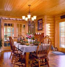 log home dining rooms pennsylvania log home dining room stone