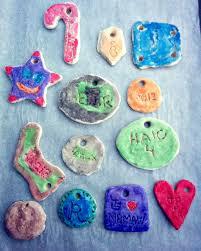 easy salt dough ornaments three loud