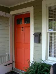 my little bungalow color selections front door and hallway