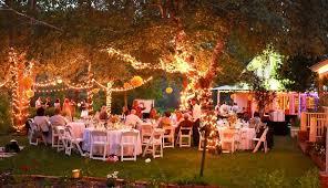 outdoor wedding reception venues backyard wedding reception evening evening outdoor wedding ideas