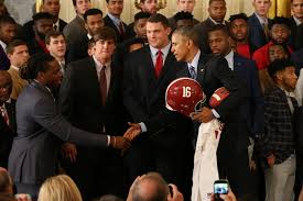 White House Tours Obama by Nick Saban And Alabama Crimson Tide Feted By Obama At The White