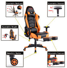 Office Chair Top View Clipart Amazon Com Top Gamer Ergonomic Gaming Chair Pc Racing Game Chairs