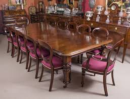 Antique Mahogany Dining Room Furniture by Antique William Iv Mahogany Dining Table C1830 U0026 12 Chairs Vinterior
