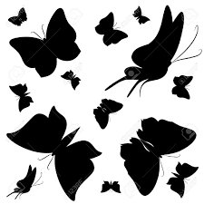 black and white butterfly design tattoos butterfly border black