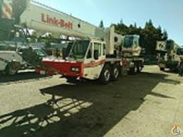 link belt htc 8675 sii hydraulic truck crane for sale in central