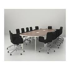 Detachable Conference Table Bekant Conference Table Black Brown White 10 Years Cable