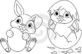 bunny coloring pages print cool free easter bunny coloring