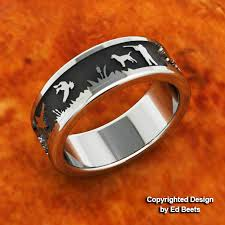 Mens Hunting Wedding Rings by Duck Band Rings Duck Wedding Bands Jewelry Pinterest Ring