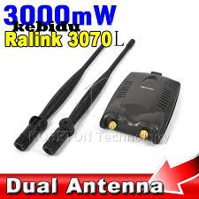 antenne wifi pour pc bureau kebidu 3000 mw sans fil wifi adaptateur récepteur longue portée