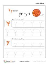 letter y templates are perfect for preschool and kindergarten