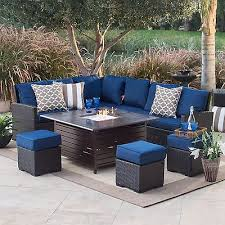 decoration in blue patio furniture house decor suggestion image blue