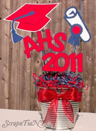 Homemade Graduation Party Centerpieces by A Scrapn Tia N Tx Homemade Graduation Centerpiece Center Piece