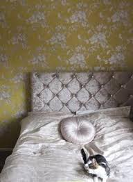 B Q Bedroom Wallpaper Arthouse Vintage Fleurette Gold Effect Floral Wallpaper