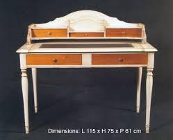 bureau louis philippe merisier bureau à tiroirs louis philippe merisier