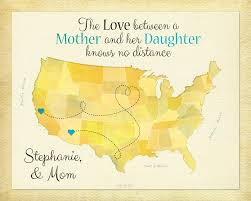 Personalized Home Decor Gifts Gift For Mom Birthday Idea For Mother Moving Away Present Long