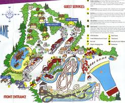 Knotts Berry Farm Map Busch Gardens The Old Country 1987 Theme Park Maps