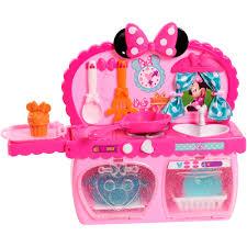 Kitchen Set Toys For Girls Disney Minnie Bow Tique Bowtastic Kitchen Playset Walmart Com