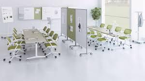Speedy Furniture Corporate Office Fliptop Twin Meeting U0026 Training Room Table Steelcase