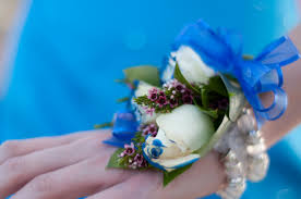 wrist corsages for homecoming corsage