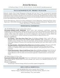 Sample Resume For Project Manager by Download Nuclear Procurement Engineer Sample Resume