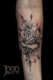 rose black and white rose tattoos on forearm tattoos design ideas