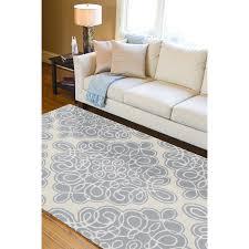 grey and cream area rug imposing moroccan trellis and quatrefoil