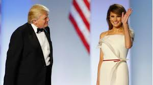 melania wins raves in white inaugural ball gown thehill