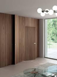 Interior Door Fitting Hinged Flush Fitting Door Tabula By Ghizzi Benatti Wood