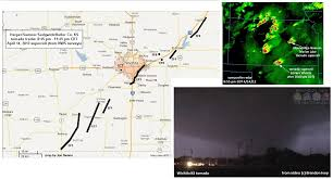 Map Of Wichita Ks Jon Davies Severe Weather Notes 2012