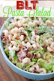 blt pasta salad the country cook
