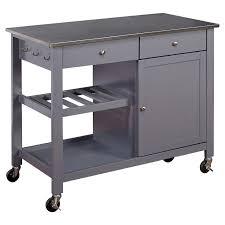 Island Kitchen Cart Best 25 Stainless Steel Kitchen Cart Ideas On Pinterest Kitchen