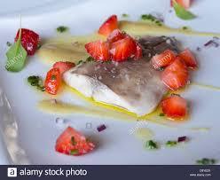 la nouvelle cuisine nouvelle cuisine gourmet fish dish stock photo 57152114 alamy