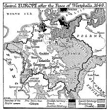 Map Of Europe 1648 by 35 4 The Break Up And Disorder Of Germany U2014 The Outline Of History