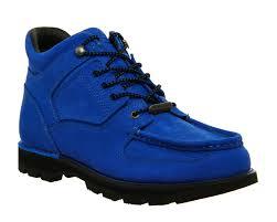 mens rockport umbwe boots royal blue suede boots ebay