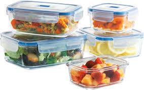 halloween storage bins luminarc pure box active 5 container food storage set u0026 reviews