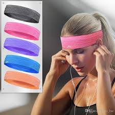 sports headband 2018 unisex headband sports stretch elastic sweatband