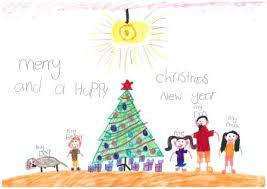 cbhs christmas card drawing competition winner