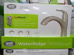 costco kitchen faucet water ridge pull out kitchen faucet