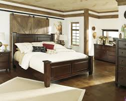 Ashley Millennium Prentice White Queen Bedroom Suite Ashley Hindell Park Poster Bed