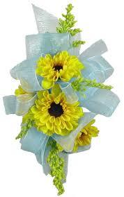 sunflower corsage clinton florist oak ridge florist clinton flower shop tn