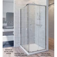 doccia facile rapida 6 il box doccia con il montaggio pi禮 facile mercato