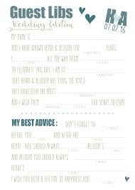wedding mad libs template mad libs wedding template 28 images 17 best ideas about