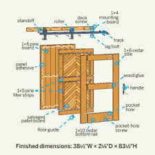 Cedar Barn Door 20 Diy Barn Doors To Add A Rustic Touch Your Home Needs The Self