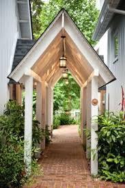 Backyard Garage Designs Garage Attached To House By Breezeway Griffith Enterprises