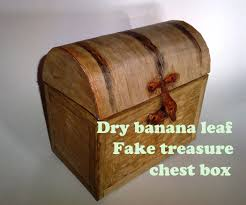 cheap treasure chest box real wood look 6 steps with pictures