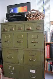 Vintage Metal File Cabinet Catchy Green Filing Cabinet Military Green Metal File Filing